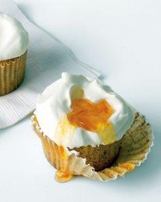 Orange-Almond Cupcakes Recipe