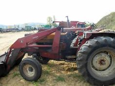 International 784 tractor salvaged for used parts. Call 877-530-4430 for the best selection of used ag parts. http://www.TractorPartsASAP.com