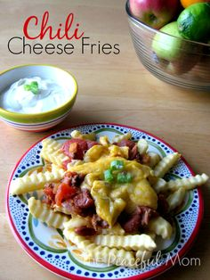 Chili Cheese Fries: Quick and Easy Dinner Idea from The Peaceful Mom