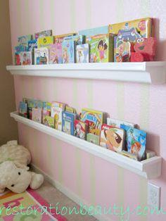 diy home decor, idea, kid rooms, nurseri, reading nooks