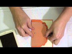 Label Collection Framelit (SU!) Gate-Fold Card Tutorial
