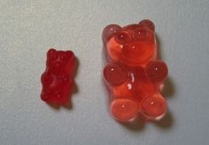 Gummy Bears soaked in Vodka - easier and better than jello shots! bethanymarieb