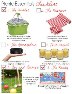 Summer is the time for picnics! Tips & Essentials at House of Fifty mag