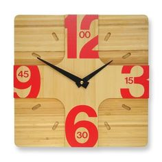 Great clock for the kitchen.