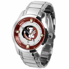 Florida State Seminoles (FSU) Men's Titan Watch