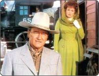 Big Jake was made near the end of John Wayne's legendary career. It was the fifth and final time he played opposite the beautiful Maureen O'Hara. Two of his real life sons also appear in the movie. Patrick Wayne plays one of Big Jake's sons and Ethan Wayne plays his grandson.