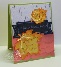 Stampin' Up! Thankful Tablescape Simply Created Kit. Use the kit to make cards! By Debbie Henderson, Debbie's Designs.