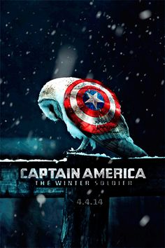 Moving Captain America: The Winter Soldier Poster