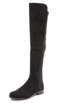 Stuart Weitzman 5050 Stretch Suede Boots #dreamshoe #shopbop #stuartweitman