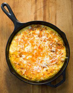 Chorizo & Potato Frittata