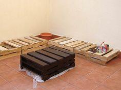 Muebles de palet para el jardín | Hacer bricolaje es facilisimo.com