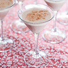 Don't be so chai...      1 oz prepared chai tea mix      1 oz half-and-half, or milk        1 oz vodka (ginger or vanilla flavored vodka is wonderful in this drink)      ground cinnamon or pumpkin pie spice, for sprinkling on top