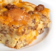 Sometimes breakfast for dinner is just what you need. So, break open your crescent rolls and make this popular breakfast recipe. Crescent Roll Casserole uses five simple ingredients and is super easy to put together. Prepare it in the morning or right before you eat - whatever works for you and your schedule! You'll definitely enjoy this crescent roll recipe.