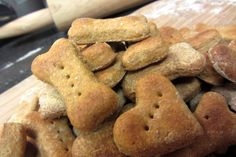 Pumpkin dog biscuit recipe sub coconut flour for wheat flour