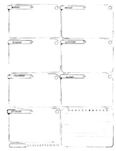 Free Printable Weekly Planner -A single 8.5 x 11 weekly planner for jotting down all your wonderful weekly plans, lists and doodles. This free download contains two versions – one with space on the right and one with space on the left for double sided printing and hole punches.