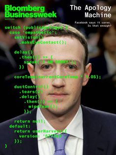 Businessweek magazine - Facebook apologies