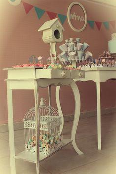 #party #festa #idea #craft #diy #decor #birds #garden