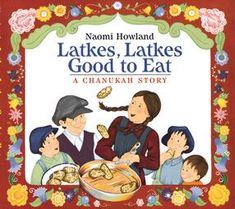 kid books, chanukah celebr, jewish holiday, hanukkah book, recommended books, holidays,  latkes good to eat, decemb, books for kids
