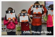 Little Minds at Work: Penguin Close Read {a freebie}