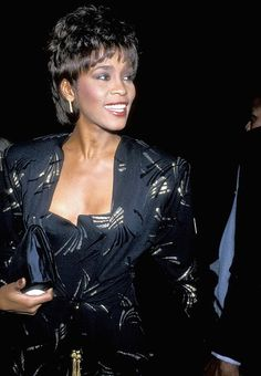 Whitney Houston in 1989.