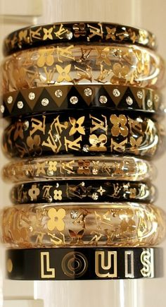Louis Vuitton Bangles, omg I love these