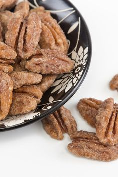 cinnamon sugar coated pecans