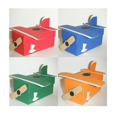 Airplane favor boxes