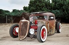 Ford Truck Rat rat rods, classic car, rod truck, ford truck, hot rods, rats