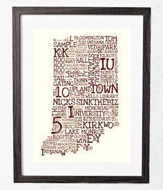 Indiana University Typography