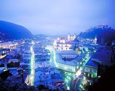 Salzburg, Austria, Europe: Old Town