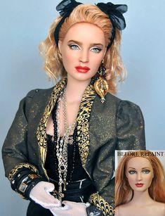 Doll Repaint of 1980s Madonna by noeling.deviantart.com on @deviantART