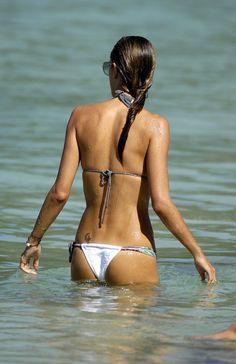 Alessandra Ambrosio #thong