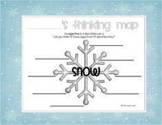 from miss Kindergarten's snow unit