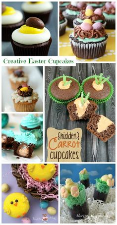 Easter Cupcakes #Recipes #Easter
