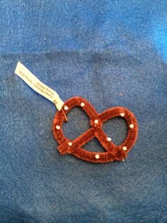 Girl Scout swaps - pretzel swap