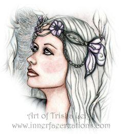 Cropped version of the Messenger (c) 2013 Trisha Leigh Shufelt.  Featuring Singer Priscilla Hernandez www.priscillahernandez.com