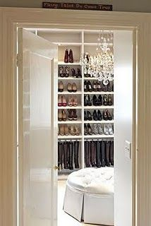 Relaxed Luxury - Bright closets