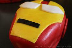 iron man cake tutorial birthday parti, ironman cake, cake tutorial, man parti, ultim iron, iron man party, kid parti, parti idea, dragonfli design