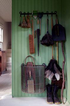 Broom storage :)