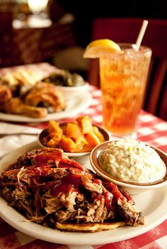 Cafe food - southern BBQ
