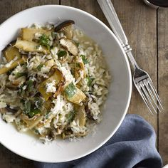 Truffle Risotto with Trumpet Mushrooms | Williams-Sonoma