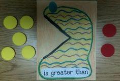 greater than-----less than classroom idea, greater thanless, numbers, teacher teacher, kid school, monsters, number crunch, math idea, crunch monster