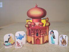 Castillo de Jasmine para Imprimir Gratis.