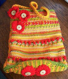 Tunisian Crochet Bag - inspiration.
