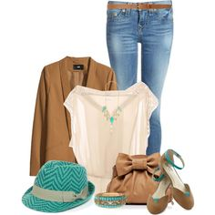 Fedora & Flats O2, created by jay-to-the-kay on Polyvore