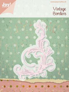 6002/0359 Noor! Design Vintage Border 1 st.