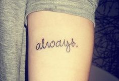 Always - love this font