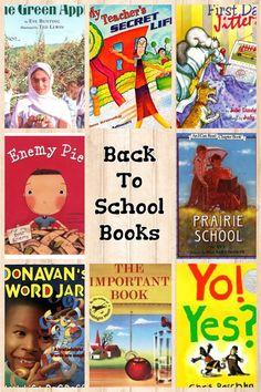 Back to School Books chosen by The Reading Tutor/OG