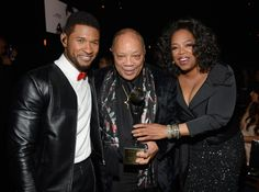 Usher, Quincy Jones And Oprah Winfrey | GRAMMY.com