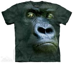 Silverback Portrait T-Shirt at theBIGzoo.com, a family-owned store. Check our sales & FREE Shipping.